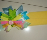 Andie*Andy Layered Ribbon Hairbow / Headband - Super Cute